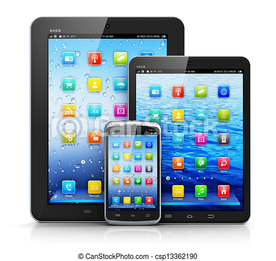appareils, mobile - csp13362190