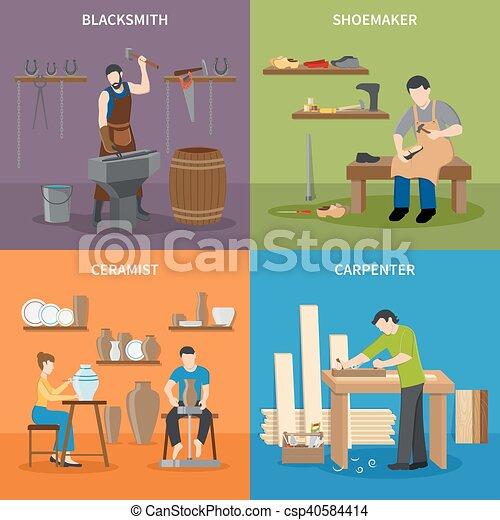 Appartamento 2x2 set artigiano icone appartamento for Piani di artigiano contemporanei