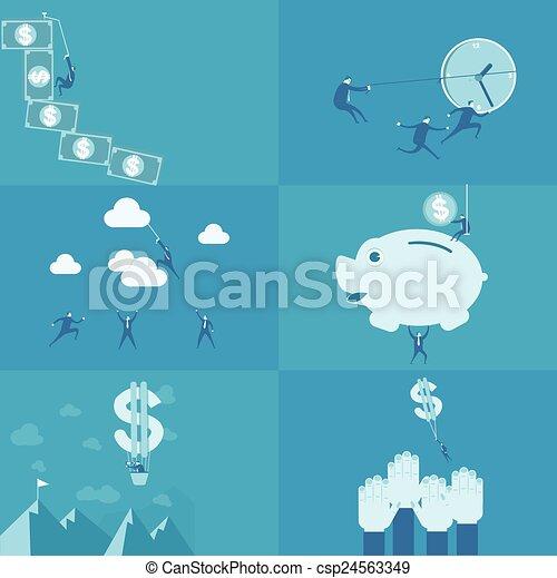 appartamento, concetto, affari, elemento, disegno, icona - csp24563349