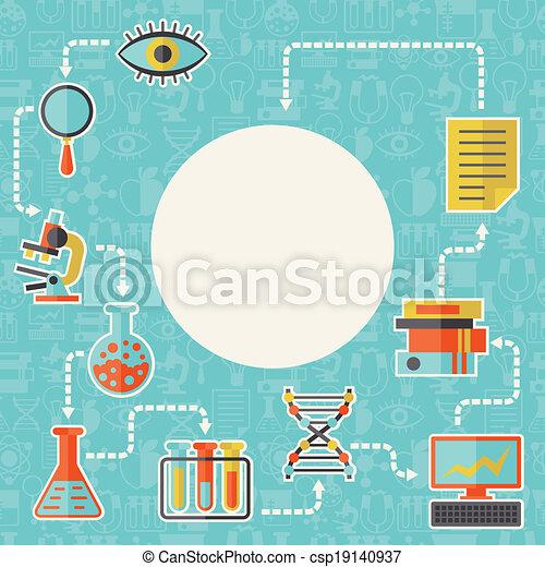 appartamento, concetto, scienza, disegno, fondo, style. - csp19140937