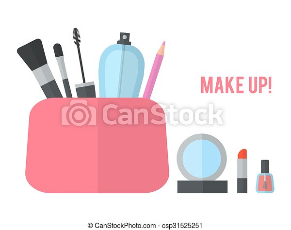 appartamento, concetto, truccare, illustrazione, vettore - csp31525251