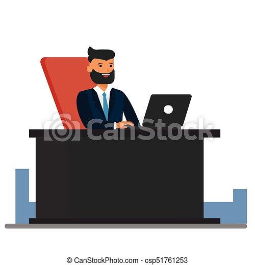 Appartamento Concetto Ufficio Seduta Grande Isolato
