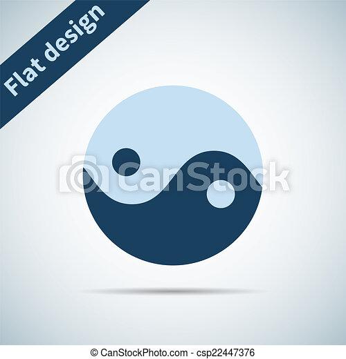 appartamento, icona, disegnare elemento - csp22447376