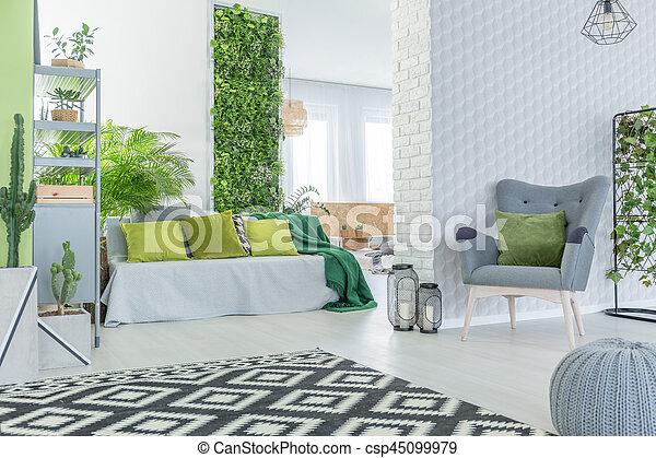 Appartamento moderno carta da parati 3d carta da for Parati 3d prezzi