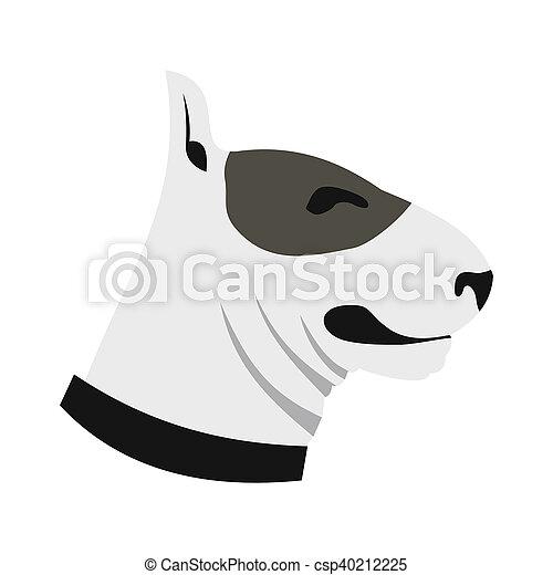 Appartamento stile cane toro icona terrier foto d for Piani casa com classico cane trotto stile