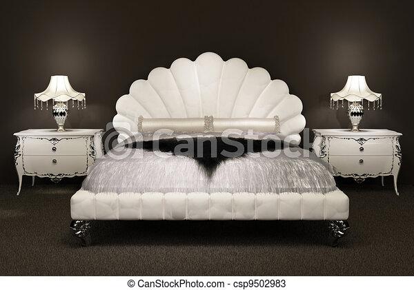 appartement poil moderne lit luxueux dessus de lit dessins rechercher clipart. Black Bedroom Furniture Sets. Home Design Ideas