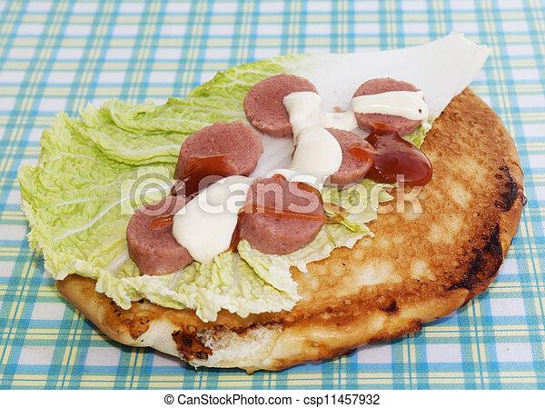 Appetizing fastfood - csp11457932