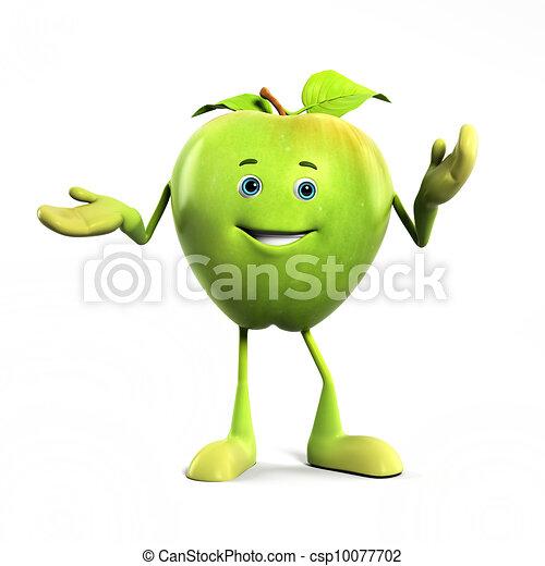 Apple character - csp10077702