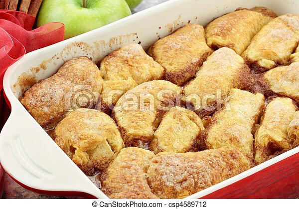 Apple Dumplings - csp4589712