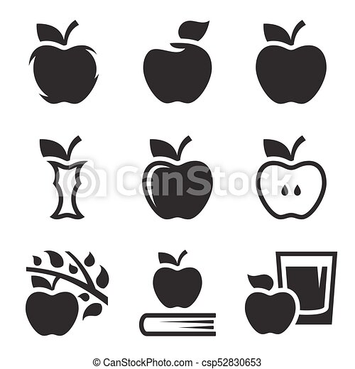 Apple icons set - csp52830653