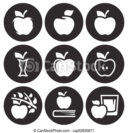 Apple icons set - csp52830671