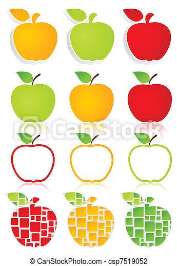 Apple icons2 - csp7519052