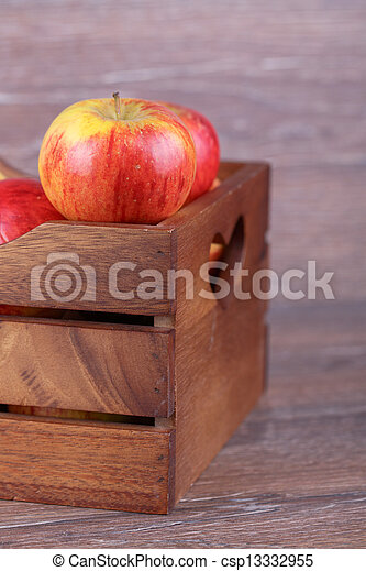 apple in a box - csp13332955
