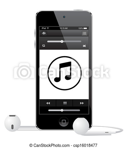 apple ipod touch vector eps 10 vectors illustration search clipart rh canstockphoto com ipod touch clipart ipod clip art black and white