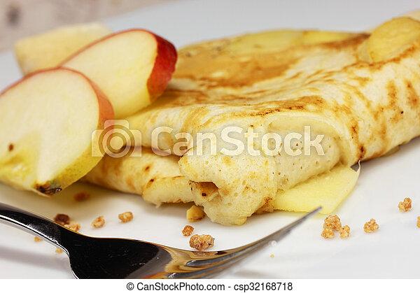 apple pancakes - csp32168718