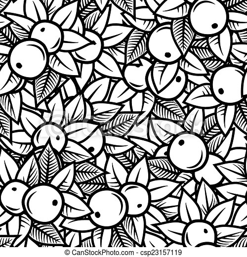 apple pattern - csp23157119