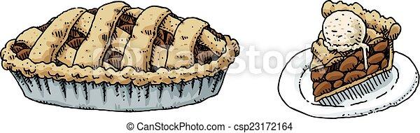 Apple Pie - csp23172164