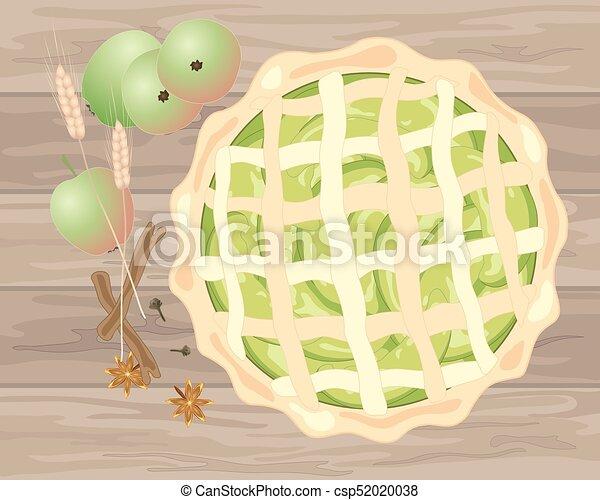 apple pie - csp52020038