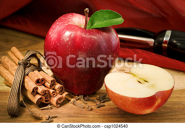 Apple Pie Ingredients - csp1024540