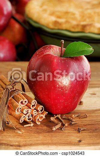 Apple Pie Ingredients - csp1024543