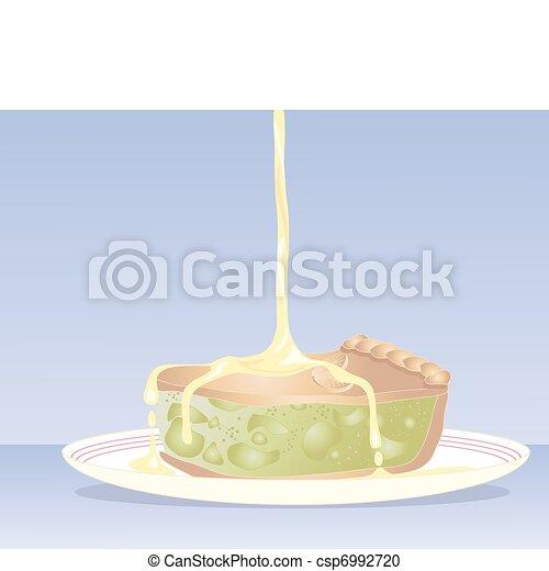 apple pie - csp6992720