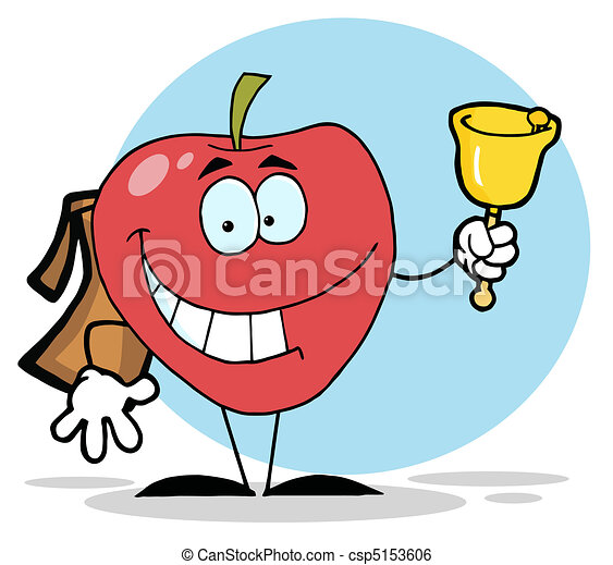 Apple Ringing A Bell  - csp5153606