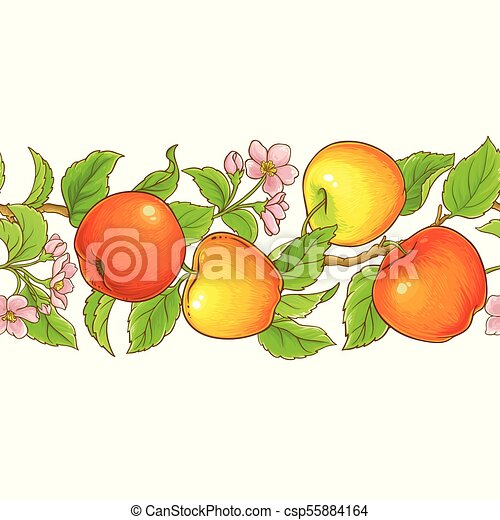 apple seamless pattern - csp55884164