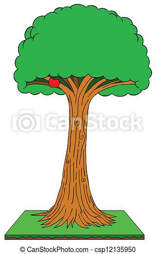 apple tree - csp12135950