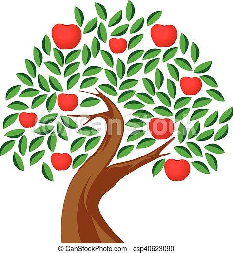 apple tree - csp40623090