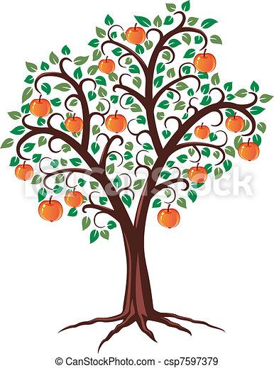 apple tree - csp7597379