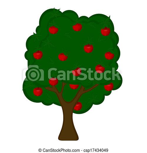apple tree eps vector search clip art illustration drawings rh canstockphoto com apple tree clipart free apple tree clipart png