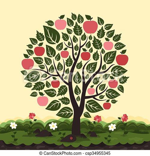 Apple tree - csp34955345