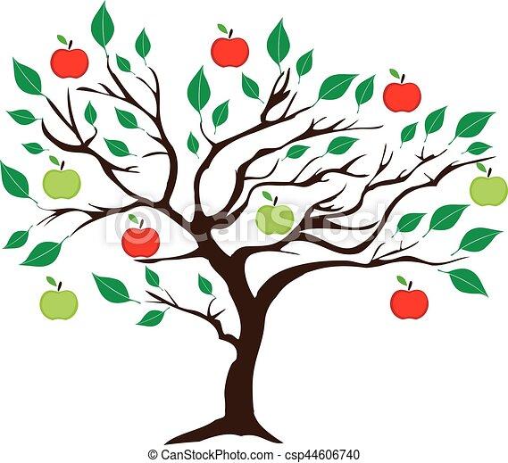 Apple Tree - csp44606740