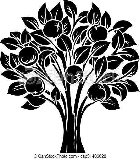 Apple Tree - csp51406022