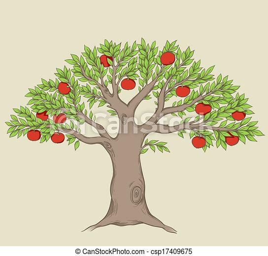 Apple tree - csp17409675