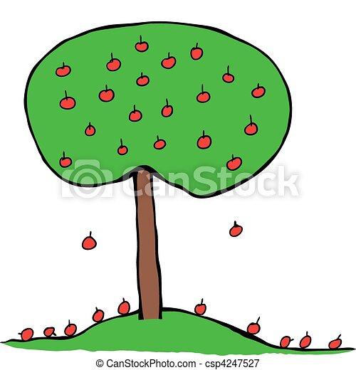 Apple Tree - csp4247527