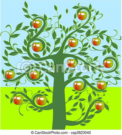 apple tree - csp3823040