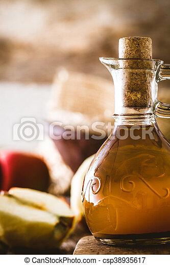 Apple vinegar - csp38935617