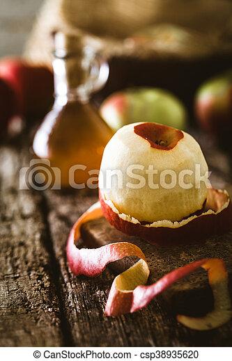 Apple vinegar - csp38935620