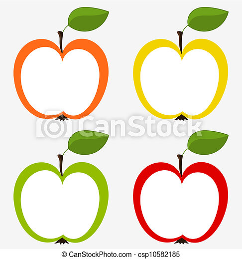 Apples collection - csp10582185