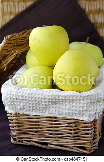 Apples in a box - csp4847151