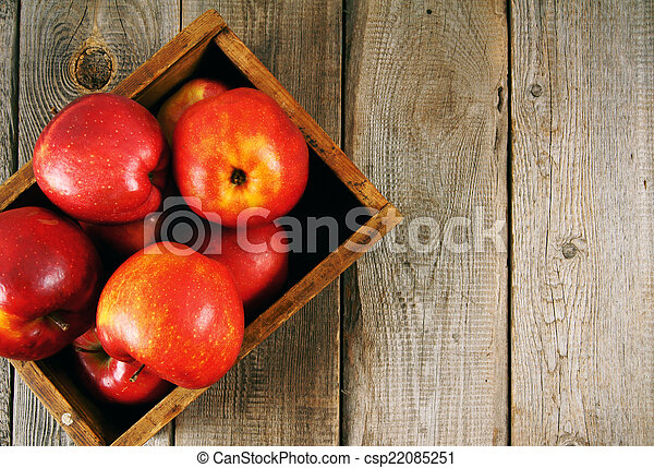 Apples in a box - csp22085251