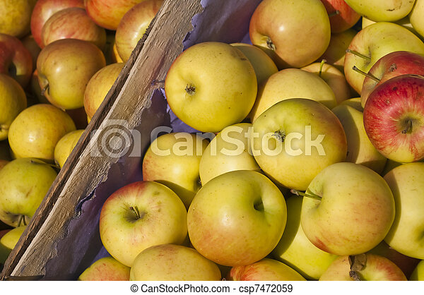 apples in a box - csp7472059