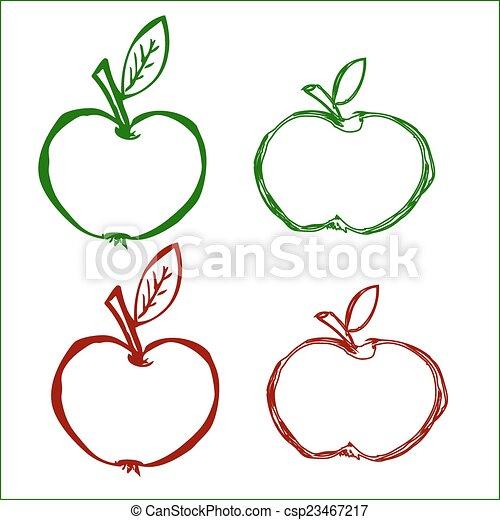 Apples - csp23467217