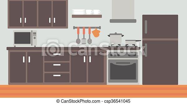 appliances fond cuisine plat appareils illustration vecteur eps rechercher des clip. Black Bedroom Furniture Sets. Home Design Ideas