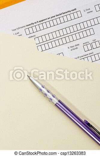 Application Form - csp13263383