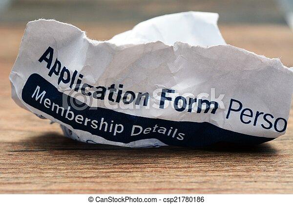 Application form - csp21780186