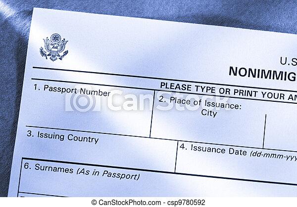Application form - csp9780592