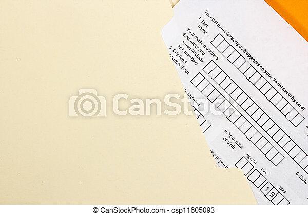 Application Form - csp11805093