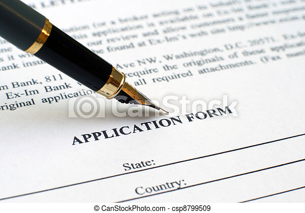 Application form - csp8799509